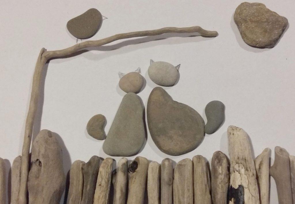 driftwood kamienie