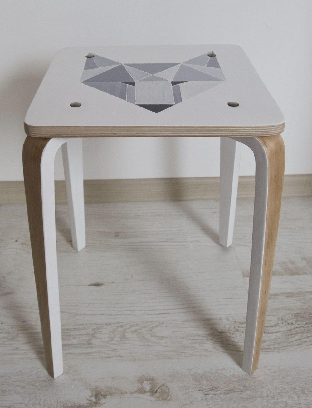 stołek taboret diy